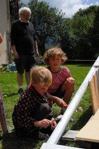 Peinture et inauguration du bateau